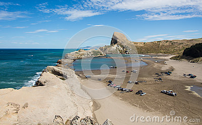 Castlepoint bay area royalty free stock photography for Deep sea fishing bay area