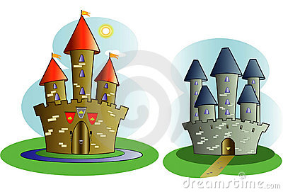 Castles of storybook legend