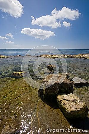 Castletown Isle of Man shoreline