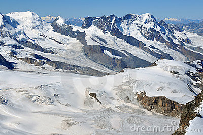 Castor Pollux and the Breithorn