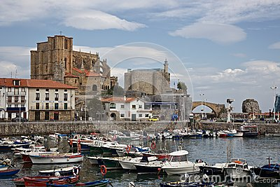 Castro Urdiales Lighthouse Editorial Photo