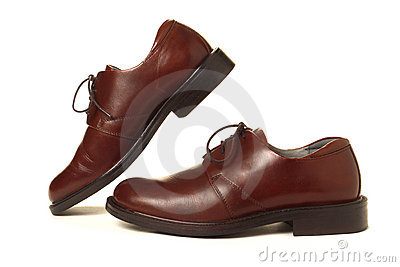 Casual Brown Leather Classic Men Shoes