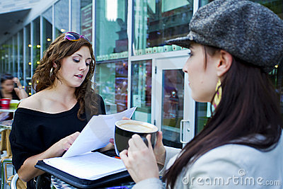 Casual Business Meeting Stock Image Image 15668271