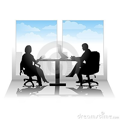 Free Casual City Interview Or Meeting Stock Photos - 5460033