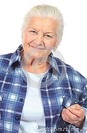 Casual granny