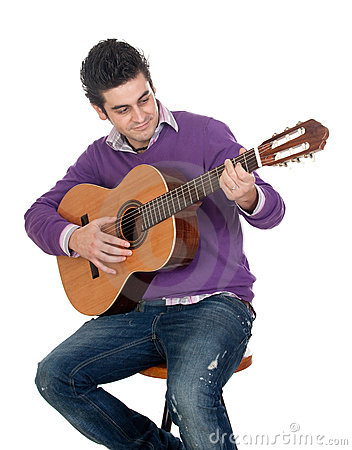 Casual guitarist