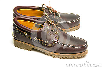 Casual rugged moccasin style men s leather shoes
