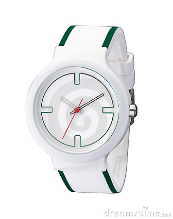 Casual sport wristwatch