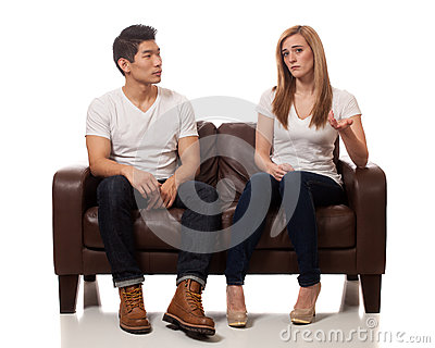 Casual Young Couple