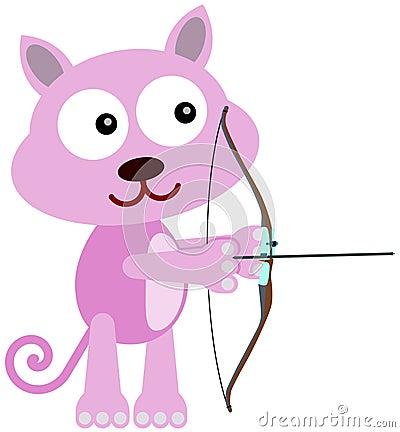 Cat archer