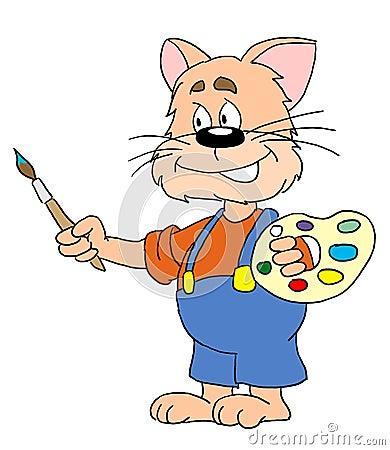 Cat artist