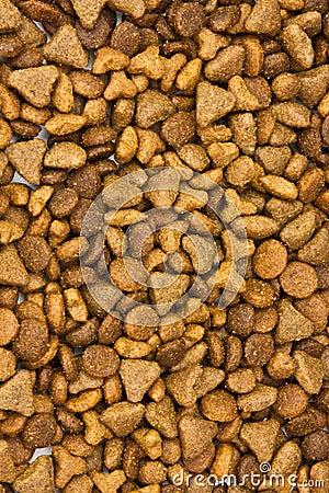 Cat food background