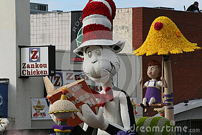 Cat in The Hat Editorial Photography