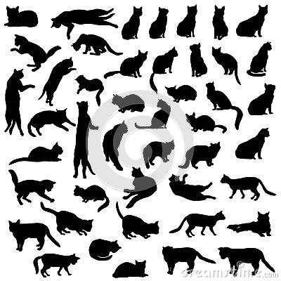 Cat Icon Collection Royalty Free Stock Images - Image: 38654359: dreamstime.com/royalty-free-stock-images-cat-icon-collection-cats...
