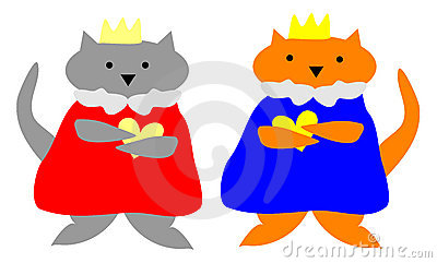 Cat King and Queen