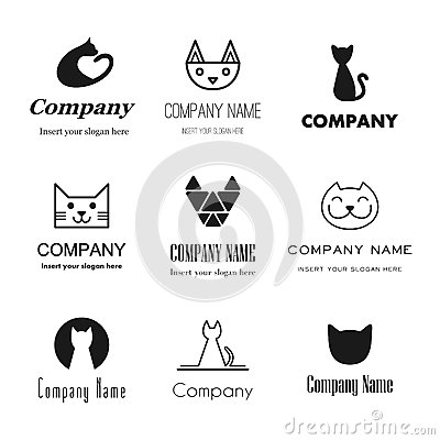 Free Cat Logos Icons Stock Photo - 67278850