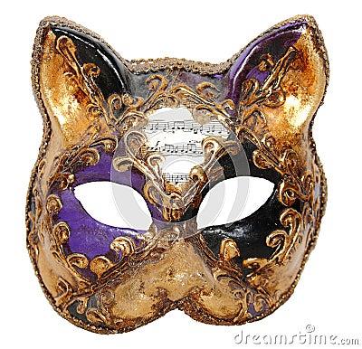 Cat mask Venice