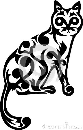 The cat ornament