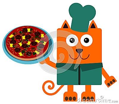 Cat pizza