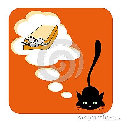 Free Cat S Dream Royalty Free Stock Photos - 5445168