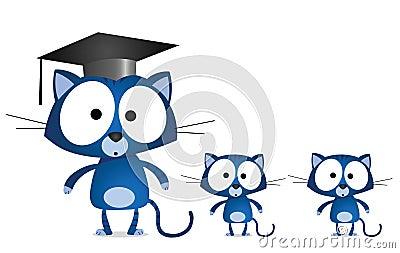 Cat teacher