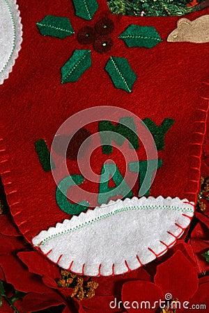 Cat Xmas stocking