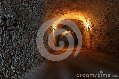 Catacombs Fotografia Stock - Immagine: 25881562