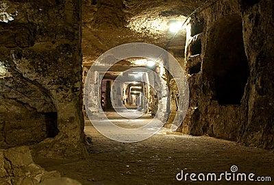 Catacombs del san Giovanni