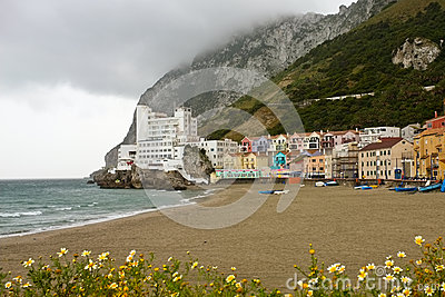 Catalan Bay and Beach, Gibraltar