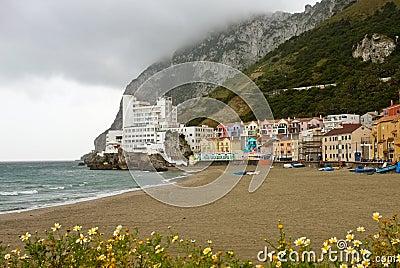 Catalan Bay and Beach, Gibraltar