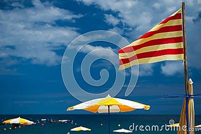 Catalan beach