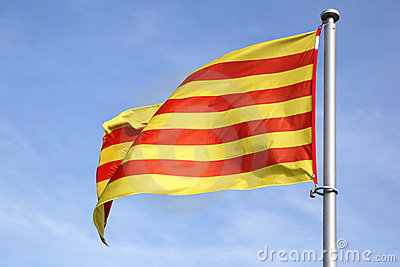 Catalan flagga