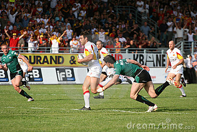 Catalans Dragons vs St Helens Editorial Photography