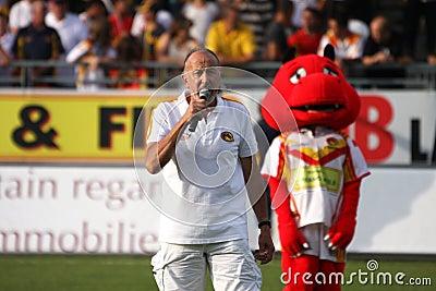 Catalans Dragons vs Wakefield Wildcats Editorial Photo