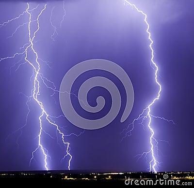 Catalina Lightning Strikes