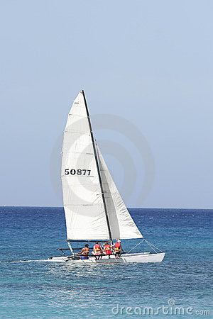 Free Catamaran Stock Photography - 492072
