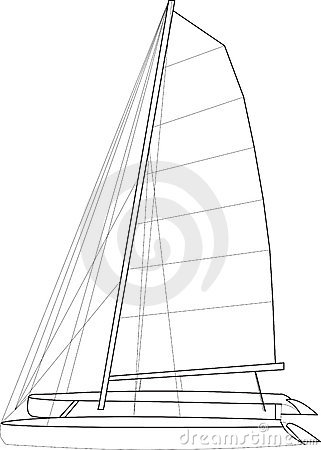 Catamaran Boat Layout