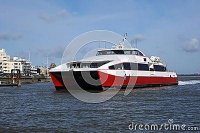 Catamaran fast ferry