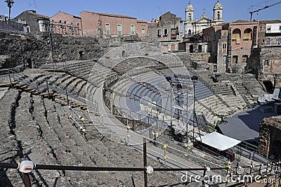 Catania, Roman Amphitheater