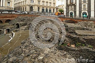 Catania Roman Amphitheatre, Sicily