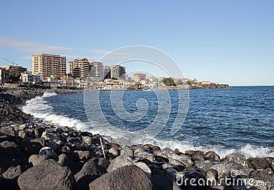 Catania seafront
