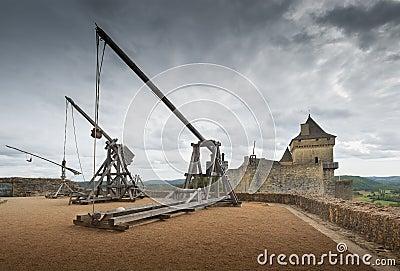 Catapults or trebuchets