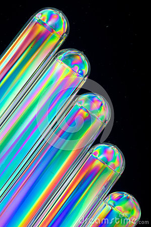 Cataract of Colorful Tubes