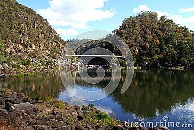 Cataract Gorge in Tasmania.