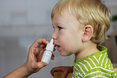Catarrh - nose drops, nasal spray