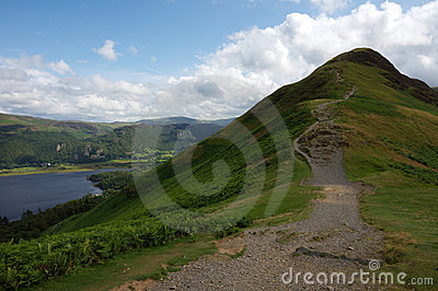 Catbells Peak in The English Lake District