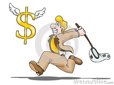 Catch money
