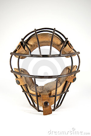 Catcher s Mask with History
