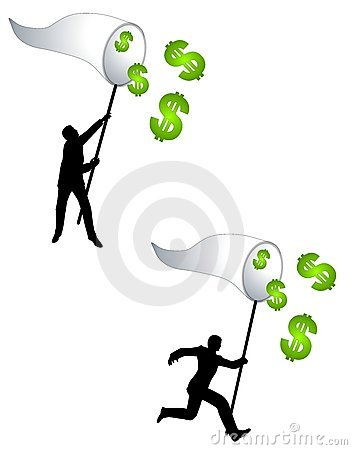 Catching Money With A Net