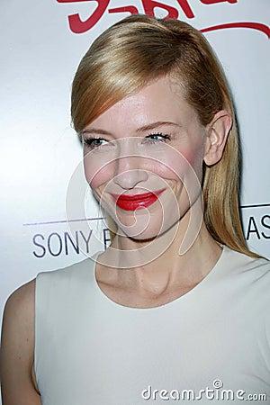 Cate Blanchett Editorial Stock Photo